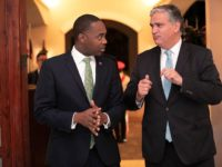 Premier Welcomes President Cordeiro to Bermuda For Celebrations
