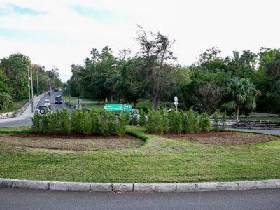 Holiday Season Roundabout Displays Begin