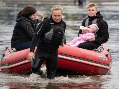 UK Weather: Woman Swept Away by Floodwater in Derbyshire