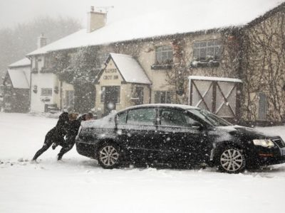 UK Weather: Arctic Swell Set to Send Big Freeze & More Flooding This Week