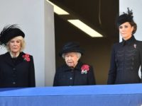 Remembrance Sunday: The Queen Leads Royal Family & Politicians to Honour War Dead