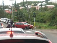 Morning Rush Hour Traffic Delayed Due to Road Traffic Accident