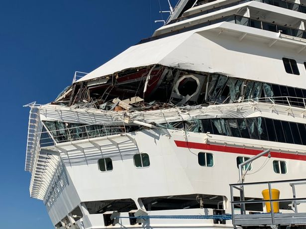 Two Huge Carnival Cruise Ships Smash Into Each Other in ...