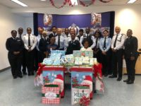 Police 'Give a Child a Christmas' Initiative Showers Two Young Students With Gifts