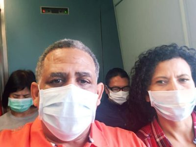 Bermudian Darren Burchall on Coronavirus Panic in China: 'We Are Now Back at Home & Staying Inside'