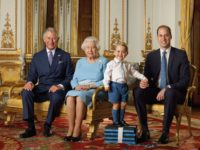 A Beaming Queen Kicks Off New Decade With a Stunning Portrait of Herself & Her Three Heirs