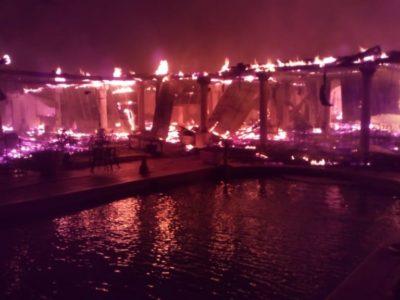 Jamaica: Fire Destroys MoBay's Historic Richmond Hill Hotel