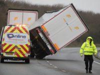 UK Weather: Thundersnow & Howling Wind as Storm Ciara Brings Monday of Mayhem
