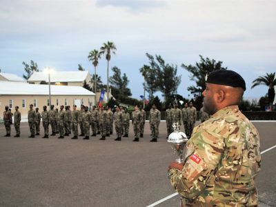 RBR Passing Out Parade Marks The End of Recruit Camp 2020