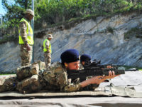 RBR Recruits Fire First Shots on The Range at Warwick Camp