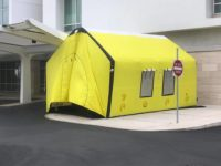 COVID-19: New Yellow Tent Outside KEMH As BHB Prepares For Possible Cases of Coronavirus