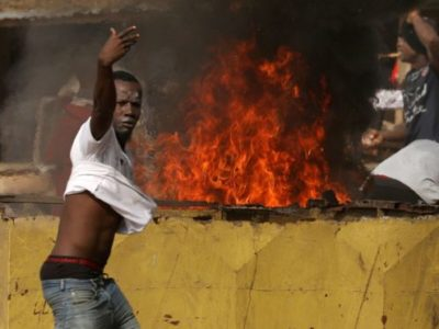 COVID-19: Ivory Coast Protesters Target Coronavirus Testing Centre