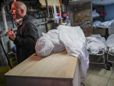 'Surreal': NY Funeral Homes Struggle as Coronavirus Deaths Surge
