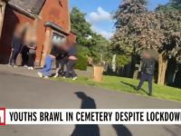 UK Youngsters Ignore Coronavirus Lockdown Measures to Brawl in Cemetery