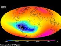 Earth's Magnetic Field is WEAKENING Between Africa & South America, Causing Satellites & Spacecraft to Malfunction