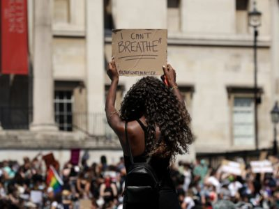 George Floyd Protests: Thousands Take to Streets in UK Chanting 'I Can't Breathe'