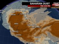 Sahara Dust Blankets Caribbean, Air Quality Hazardous