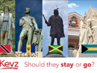 Statue Rage – Jamaica Government Opens Debate On Removing Monuments To Colonial-Era Icons