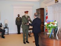 Youngest RBR Commanding Officer Appointed