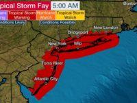 Tropical Storm Fay Forms Near North Carolina & Likely To Make Landfall Today