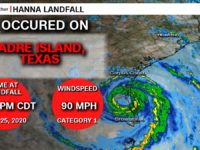 Hurricane Hanna Makes Landfall, Slams Texas With Heavy Rain & Wind