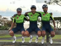Bermuda's Junior Cycling Trio On The Move In Sunday Team Trial Race