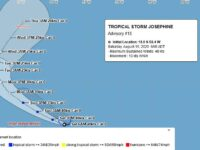 Tropical Storm Josephine Now Considered A Potential Threat To Bermuda