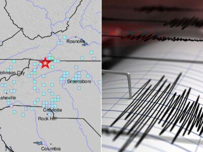 Earthquake Of 5.1 Magnitude Hits North Carolina In Rare Tremor On US East Coast