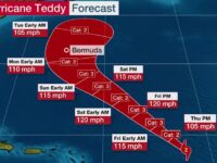 Hurricane Teddy May Strike Bermuda Just One Week After Paulette & Could Threaten Atlantic Canada