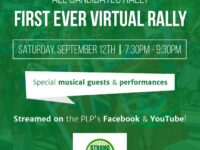 PLP To Host Bermuda's First-Ever Virtual Campaign Rally Tonight