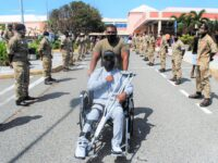 Injured Soldier  Pte Ndavyah Williams Returns Home To Hero's Welcome