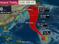 Teddy Strengthens Into Category 4 Storm As Tropical Depression 22 Forms In Gulf