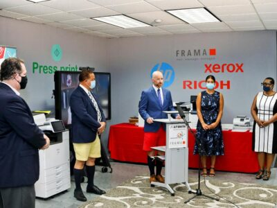 Official Launch Of Frama Franking Machines In Bermuda