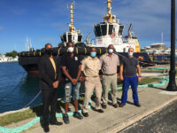 New Minister Of Transport On Hand For The 'Official Handover' Of Bermuda's Two New Tugboats