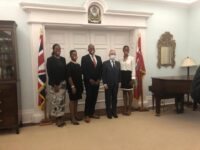 Cole Simons Sworn In As New Opposition Leader At Government House