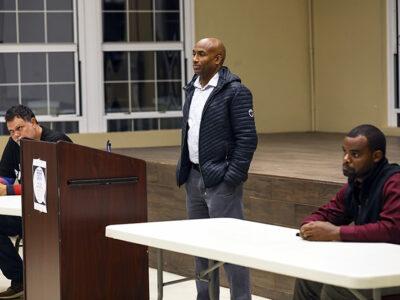 Minister Rabain Hosts Fathers Speak Session