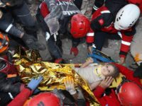 Turkish Rescuers Pull Girl From Rubble Four Days After Quake