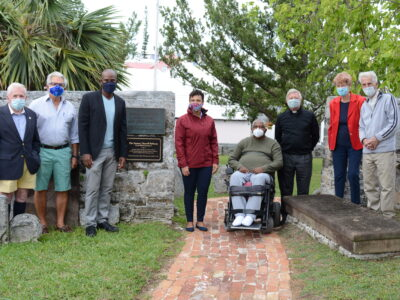 New Pathway At St Peter's Makes Black Heritage Site More Accessible