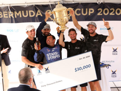 Canfield, Team Stars+Stripes Win 70th Bermuda Gold Cup, 2020 Open Match Racing Worlds