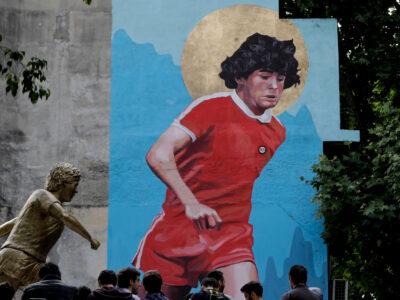 Move Over St Paul: Napoli Stadium To Be Named For Maradona