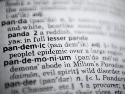 Merriam-Webster's Top Word Of 2020 Not A Shocker: Pandemic