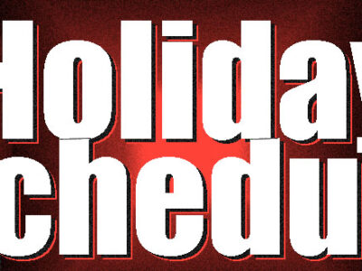Public Works Advisory On HolidayGarbage Collection – Take Note