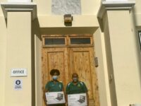 Green Family Donate Chromebooks To Whitney Institute