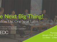 BEDC To Host Sequel To 'The Next Big Thing' Virtual Seminar