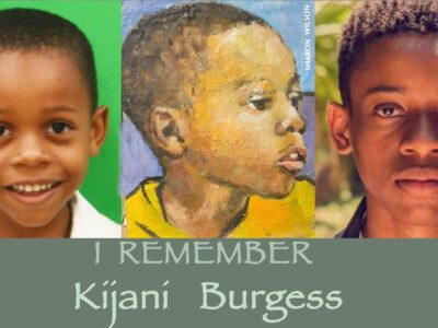 Residents Urged To Wear Blue In Remembrance Of Kijani Burgess & Bermuda's Road Fatality Victims