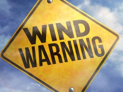 Two Warnings Posted For The Local Area – A Small Craft Warning With More Gale Force Winds