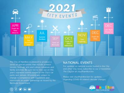 City Of Hamilton Announces 2021 Events Line-Up
