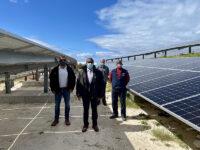 Minister Roban Visits Pompano's Solar Panel Installation