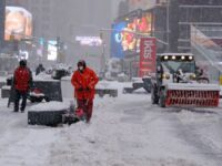 Massive Snowstorm Continues To Pummel NYC Amidst State Of Emergency