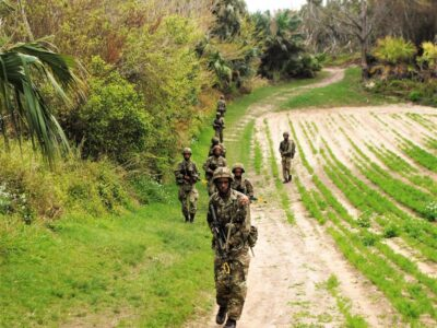 RBR Troops Hit The Field For The First Time